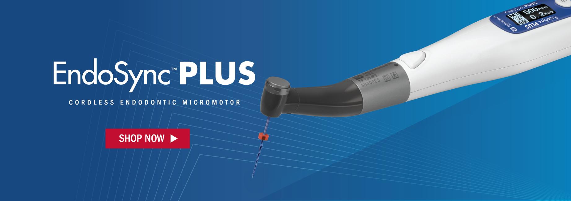 EndoSync Plus. Cordless Endodontic Micromotor. Shop Now.