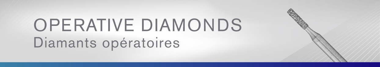 Operative Diamonds - Diamants operatoires