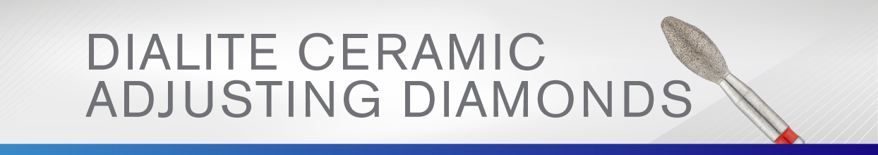 Dialite Ceramic Adjusting Diamonds from Brasseler USA